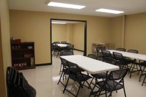 Snack Room & Study Hall at Smokestack location
