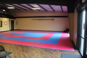 Workout room at Smokestack location